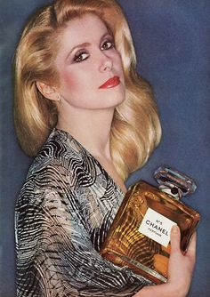 Catherine Deneuve for Chanel 1970s