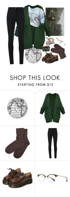 """""""mist"""" by paper-freckles ❤ liked on Polyvore featuring Brora, Ann Demeulemeester, WithChic, Oliver Peoples and Lomography"""