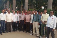 Visit of Officials from KRIBHCO and APMC, Gujarat