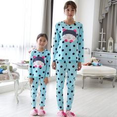 Matching Pajamas Mother And Daughter Blue Matching Pajamas, Matching Outfits, Mother Daughter Dresses Matching, Pajama Pants, Blue, Fashion, Moda, Sleep Pants, Fashion Styles