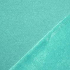 Alpenfleece Sweatshirt Stoff Mint