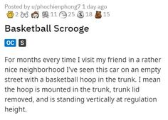 Neighborhood basketball haters have one major enemy, and it's anyone who loves loopholes and welding. #basketball #loophole #hoop #lol #story
