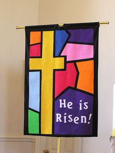 church banners for easter | Easter banners