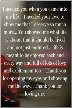Love Poems For Him, Love Quotes For Him Romantic, Love Quotes For Her, Love Yourself Quotes, Thank You For Loving Me, You Make Me Happy, Our Love, Soulmate Love Quotes, True Love Quotes