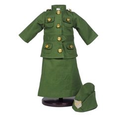 Queen's Treasures 18 in. Doll Salvation Army WWI Uniform Doll Outfit - AGCSAU