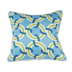 I pinned this Rings Pillow in Blue from the Signature Pillows event at Joss and Main!