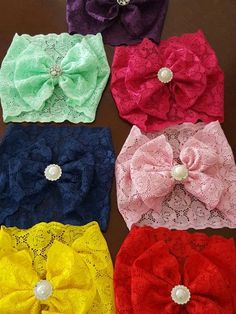 Headbands for baby for Sale in Maywood, CA Diy Baby Headbands, Baby Hair Bows, Baby Girl Hair Accessories, Baby Turban, Barrettes, Diy Bow, Baby Crafts, Handmade Baby, Ribbon Bows