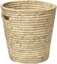 Date Leaf Round Basket
