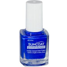 SUNCOAT PRODUCTS  INC. - The Peelables Super Natural Mineral Nail Polish (Lovely Lapis) - 0.27 Oz.