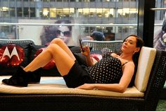 Rose McGowan, Aaron Paul take refuge at Its So Miami Oasis during Lollapalooza
