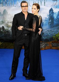 Angelina Jolie and Brad Pitt looked magnificent at a Maleficent event on May 8