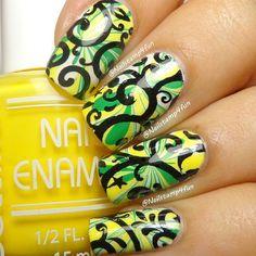 Instagram photo by nailstamp4fun  #nail #nails #nailart