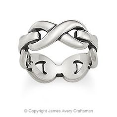 One of my favorite rings! Infinity Band from James Avery