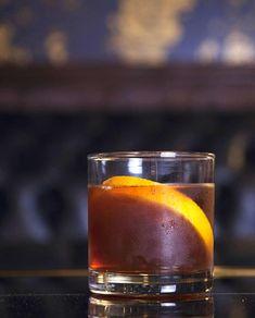 Black Hole Sun 2 oz. bourbon 1/2 oz. cold-brew coffee 1/2 oz. simple syrup (1:1) 2 dashes orange bitters 1 dash Angostura bitters 1 (liberal) dash chocolate bitters Tools: mixing glass, barspoon Glass: Old Fashioned Garnish: lemon wheel