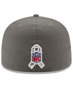 New Era Jacksonville Jaguars Salute To Service 59FIFTY Fitted Cap - Brown 7 3/4