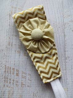 Fabric Headband--I can so make these.