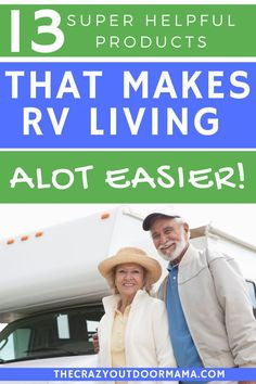 If you live in your RV or camper for any amount of time, it's worth the investment to make your life easier! These products will help you live a more comfortable, happy camping life! Small Travel Trailers, Travel Trailer Camping, Camping Packing, Camping List, Camping Checklist, Camping Essentials, Family Camping, Camping Ideas, Camping Books