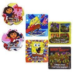 "Nickelodeon Friends Magic Towels, 11¾"" (Set of 2)"