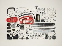 In the new book Things Come Apart, photographer Todd McLellan painstakingly disassembles 50 everyday objects and carefully photographs the results. Take Apart, Pull Apart, Things Organized Neatly, Exploded View, Coming Apart, Everyday Objects, Deconstruction, Innovation Design, Business Innovation