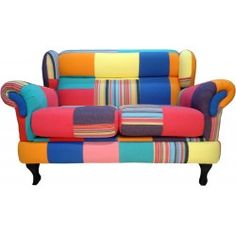Poltrona Londres 2 lugares Patchwork