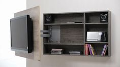 modular tv led lcd rack soporte tv mueble giratorio - TV Wall Mount Ideas for Living Room, Awesome Place of Television, nihe and chic designs, modern decorating ideas