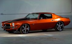 1970 Camaro SS Pro-Touring. Awesome American Muscle!