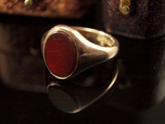 Hey, I found this really awesome Etsy listing at https://www.etsy.com/listing/189167547/1920s-carnelian-ring-vintage-mens-ring