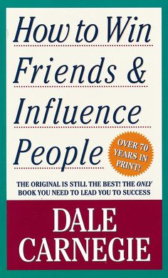 Dale Carnegie, How to Win Friends & Influence People, In this work, first published sixty years ago, Carnegie offers practical advice and techniques for how to get out of a mental rut and make life more rewarding. Dale Carnegie, Motivational Books, Inspirational Books, Reading Lists, Book Lists, Reading Room, Daniel Kahneman, Leadership, Missouri
