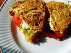 Raw on $10 a Day (or Less!): Tomato Sandwich ~ Raw Food Recipe This looks so good!