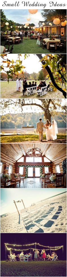 beautiful wedding reception and ceremony ideas for delicate small weddings