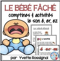 (Comptine & activités, le son é, er, ez) French phonics, Les sons French Teaching Resources, Teaching French, Teaching Tools, Er Words, Communication Orale, French Poems, High School French, French Immersion, French Teacher