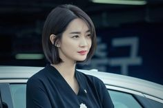 Shin Min Ah Is An Ambitious Assemblywoman In Upcoming Political Drama Asian Short Hair, Asian Hair, Girl Short Hair, Asian Bob, Short Bob Hairstyles, Hairstyles Haircuts, Pretty Hairstyles, Short Hair Dont Care, Short Hair Cuts