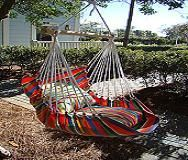 How to Make a Swinging Hammock Chair | eHow