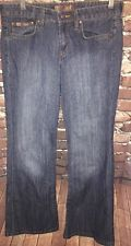 Juniors 5 L.E.I Low Rise Flare Bellbottom Jeans Stone Washed 90s( E Denim 00/01)