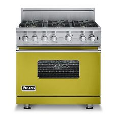 Custom 36 Inch Sealed Burner Gas Range - Viking Range Corporation
