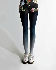 what-do-i-wear:    BZR Ombré tights in navy, atBZRshop