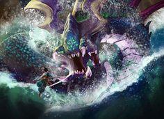 League of Legends - Baron Planet System, Online Battle, Riot Games, Legend Of Zelda, League Of Legends, A Team, Fantasy, Baron, Deviant Art