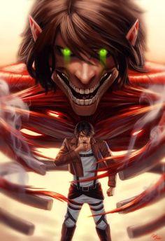 Attack on titan Eren Jaeger by on DeviantArt Eren E Levi, Attack On Titan Eren, Attack On Titan Fanart, Art Manga, Anime Art, Ps Wallpaper, Attack On Titan Aesthetic, Corpse Party, Anime Shows