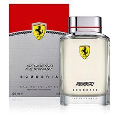 SCUDERIA –EAU DE TOILETTE 125ML Ferrari Scuderia, Smell Good, Fragrance Oil, Flask, Perfume Bottles, Fragrances, Pepper, Toilets, Eau De Toilette