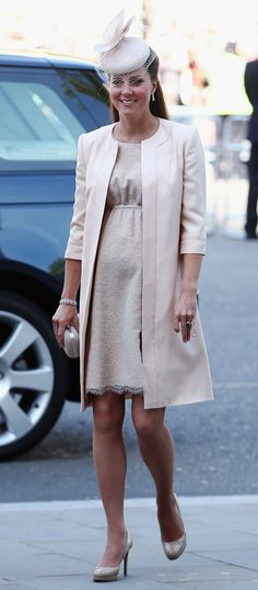 K-Mid wore a look by prim and pretty British designer, Jenny Packham. | Kate Middleton Looks Lovely At The Queen's Coronation 60th Anniversary