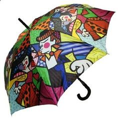 Romero Britto Swing Umbrella