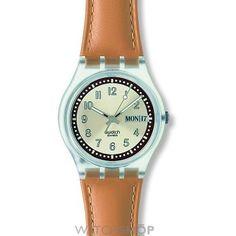 Unisex Swatch Croissant Chaud Watch GE700