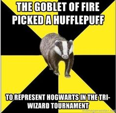 Because Hufflepuffs are Ballers!