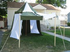 My medieval pavilion!