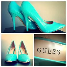 Tempting Turquoise Patent from @GUESS - http://www.heels.com/womens-shoes/neodan-3-med-blue-ll.html