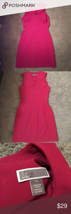 Chelsea Pink Dress Tagged as Size XS. It's brand new without tags! It's so pretty that you can wear it to work or to any cocktail parties when you pair it with statement necklaces! Don't miss out on it! Dresses Mini
