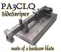 De 39 beste bildene for Homemade Single Lever Morse Paddles i 2014
