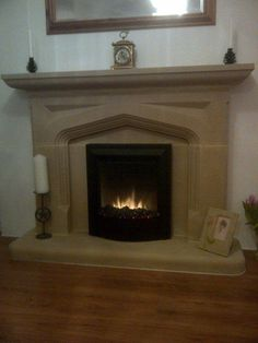 £275 Our stone fireplaces are manufactured from the finest quality reconstituted stone. Every stone fireplace we manufacturer is unique, as it is handmade and full of character. There is no substitute for the look and feel of a stone fireplace. | eBay!