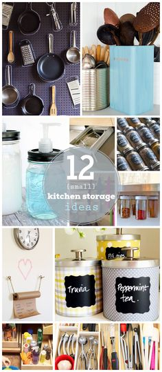 12 Small Kitchen Storage Ideas