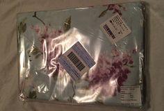 The Company Store King Flat Sheet Persian Lilac 100% Cotton EW16 Blue Purple  #TheCompanyStore